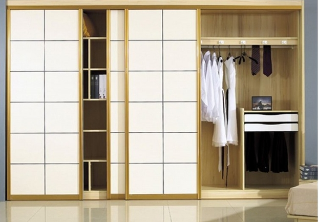 walk in wardrobe how to separate
